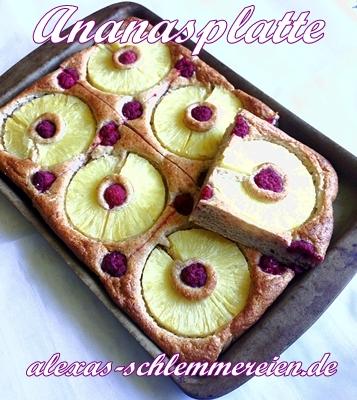 Ananasplatte