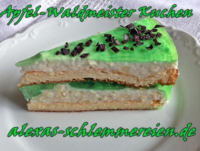 Apfel-Waldmeister Kuchen