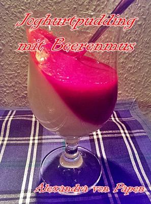 Joghurtpudding mit Beerenmus 2 Portionen