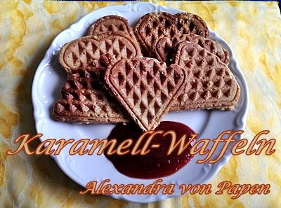 Karamell-Waffel