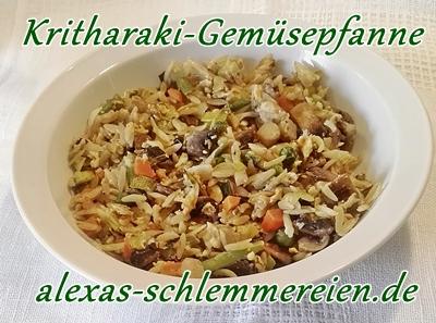Kritharaki-Gemüsepfanne