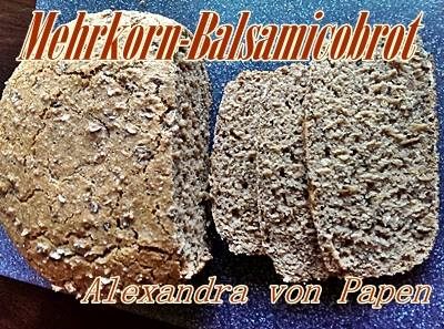Mehrkorn-Balsamicobrot