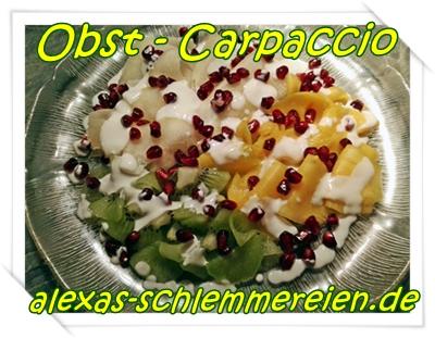 Obst-Carpaccio