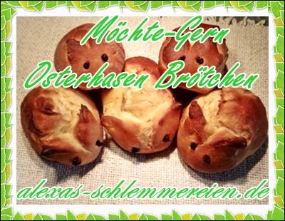Möchte-Gern Osterhasenbrötchen