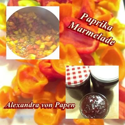 Paprika-Marmelade