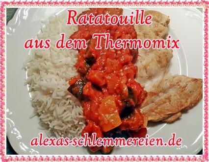 Ratatouille aus dem Thermomix