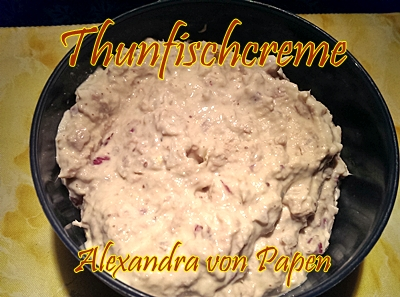 Thunfischcreme
