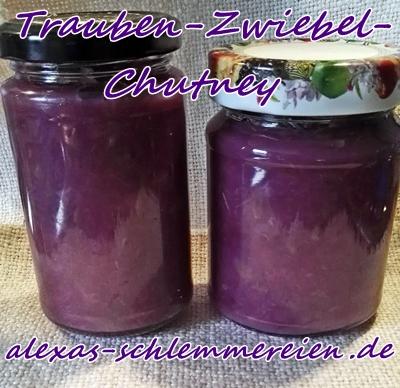 Trauben-Zwiebel-Chutney