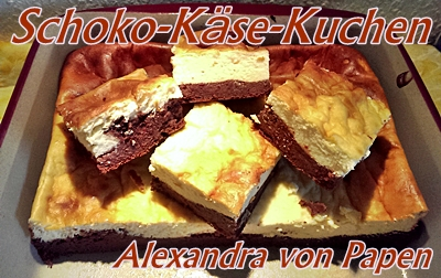 Schoko-Käse-Kuchen